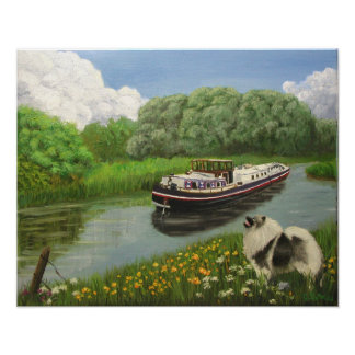 """Barge Dog"" Art Print"