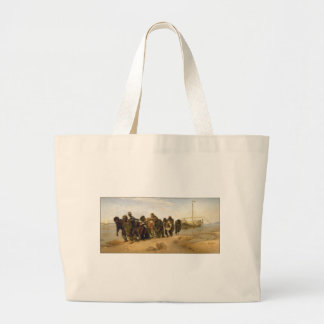 Barge Haulers on the Volga Canvas Bags