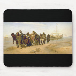 Barge Haulers on the Volga by Ilya Y. Repin Mouse Pad