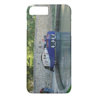 Barge on the Canal du Midi iPhone 7 Plus Case