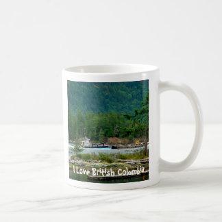 Barge on the Inland Passage Coffee Mug