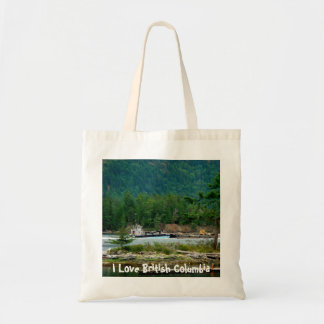 Barge on the Inland Passage Tote Bag
