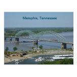 Barge on the Mississippi River Postcard