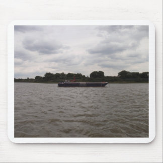 Barge On The Thames Mouse Pad