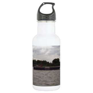 Barge On The Thames 18oz Water Bottle