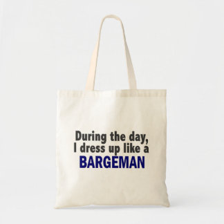 Bargeman During The Day Canvas Bags