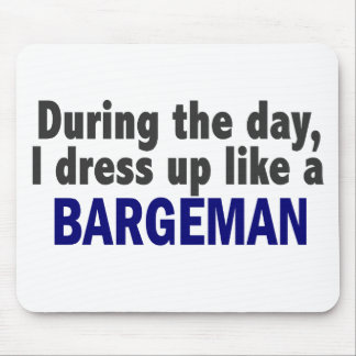 Bargeman During The Day Mouse Pad