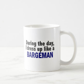 Bargeman During The Day Classic White Coffee Mug