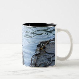 Barges and Water Mug