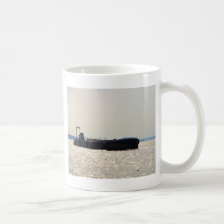 Barges Moored On the Thames Coffee Mug