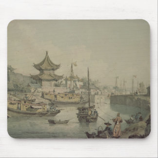 Barges of Lord Macartney's Embassy to China Mouse Pad