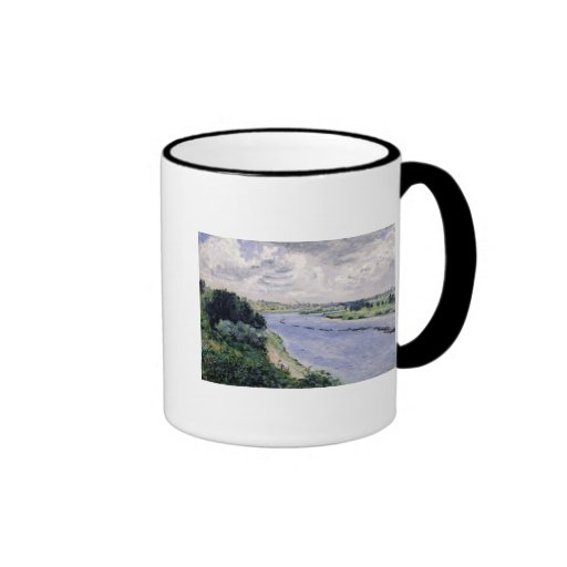 Barges on the Seine, c.1869 Mugs