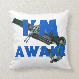 "Bargie ""I'm Asleep"" Throw Pillow"
