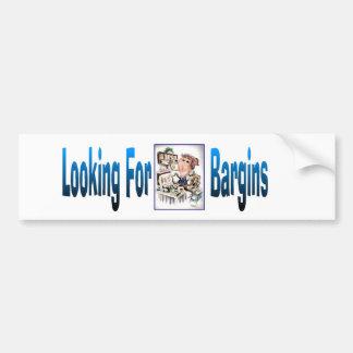 Bargins Bumper Stickers