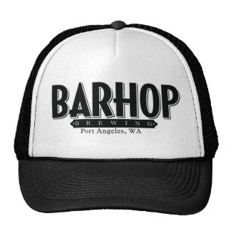 Barhop b/w hat