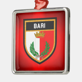 Bari Flag Metal Ornament