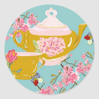 Bari J Tea Party Stickers