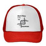 Bari Sax in my Genes Hats