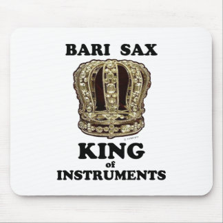 Bari Sax King of Instruments Mouse Pad
