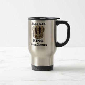 Bari Sax King of Instruments Travel Mug