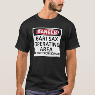 Bari Sax Operating Area T-Shirt