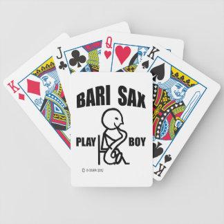 Bari Sax Play Boy Poker Cards