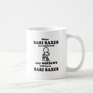 Bari Saxes Outlawed Coffee Mug