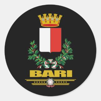 Bari Round Sticker