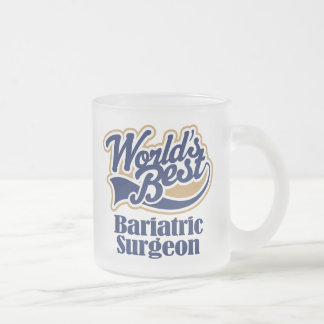 Bariatric Surgeon Gift Frosted Glass Coffee Mug