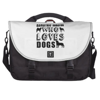 bariatric surgeon Who Loves Dogs Laptop Bag