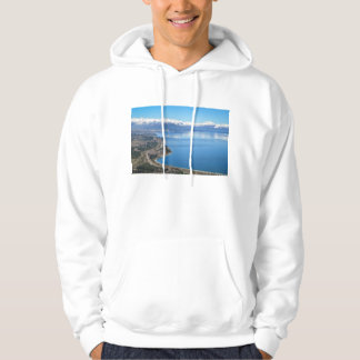 Bariloche Aerial View In Winter Hoodie