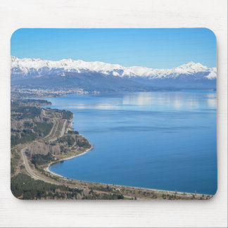 Bariloche Aerial View In Winter Mouse Pad