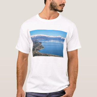 Bariloche Aerial View In Winter T-Shirt