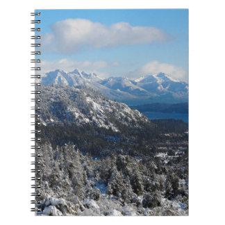 Bariloche, Rio Negro, Argentina Spiral Notebook