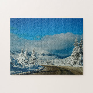 Bariloche, Road To Ski Resort Jigsaw Puzzle