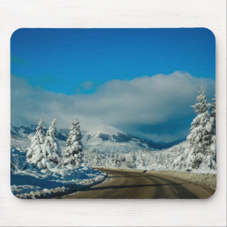 Bariloche, Road To Ski Resort Mouse Pad