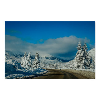 Bariloche, Road To Ski Resort Poster