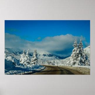 Bariloche, Road To Ski Resort Poster