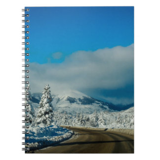 Bariloche, Road To Ski Resort Spiral Notebook