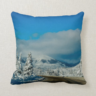 Bariloche, Road To Ski Resort Throw Pillow