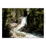 Baring Falls at Glacier National Park Card