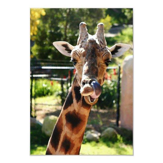 Baringo Giraffe Card