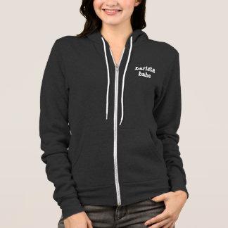 BARISTA BABE zip hoodie sweatshirt