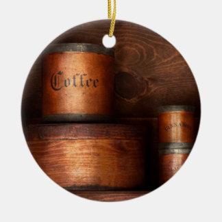 Barista - café - café y especia adorno de navidad
