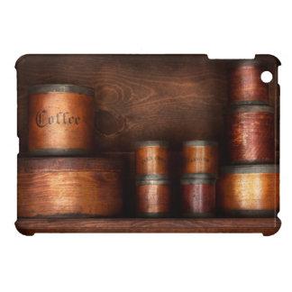 Barista - café - café y especia iPad mini cárcasas