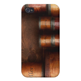 Barista - café - café y especia iPhone 4 carcasa