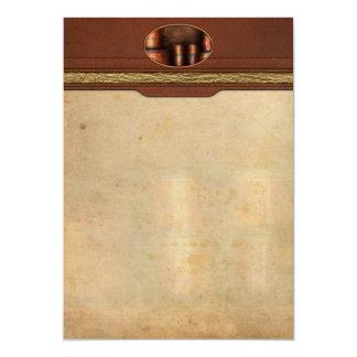 Barista - café - café y especia invitación 12,7 x 17,8 cm