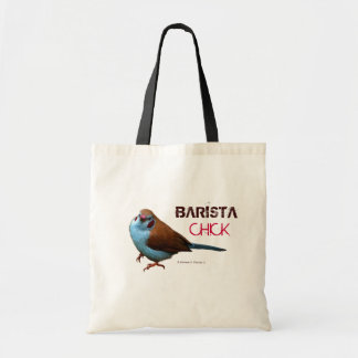 Barista Chick LOLBirds Tote Bag
