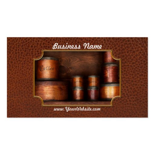 Barista - Coffee - Coffee and spice Business Card