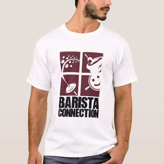 Barista Connection Squares T-Shirt